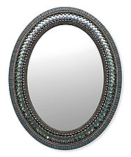 Lace Mirror by Angie Heinrich (Mosaic Mirror)