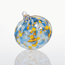 Here Comes the Sun by Thomas Spake (Art Glass Ornament)