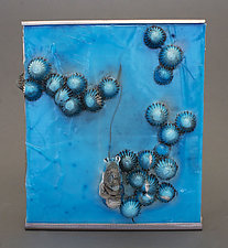 One in Twenty by Jennifer Caldwell and Jason Chakravarty (Art Glass Wall Sculpture)