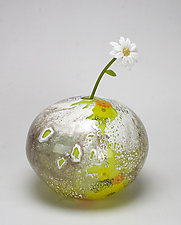 Spring by Jennifer Caldwell and Jason Chakravarty (Art Glass Sculpture)
