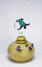 Ensuing by Jennifer Caldwell and Jason Chakravarty (Art Glass Sculpture)