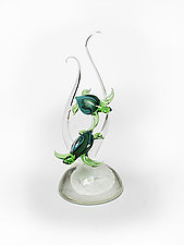 Coincide by Jennifer Caldwell and Jason Chakravarty (Art Glass Sculpture)