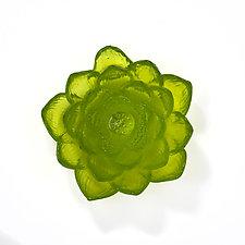 A Lily Day by Jennifer Caldwell and Jason Chakravarty (Art Glass Sculpture)