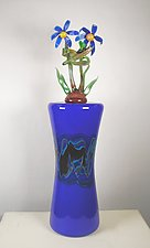 Flower Family by Jeremy Sinkus (Art Glass Vessel)
