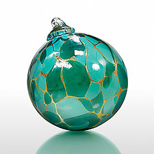 Malachite by Elias Studios (Art Glass Ornament)