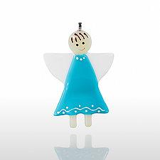 Li'l Angel by Glassworks Northwest (Art Glass Ornament)