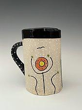 Metropolis Mug by Vaughan Nelson (Ceramic Mug)