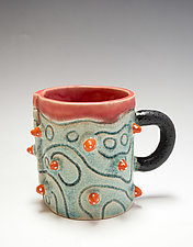 Short Urchin Mug Prototype by Vaughan Nelson (Ceramic Mug)