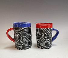 Black Optix Set by Vaughan Nelson (Ceramic Mug)