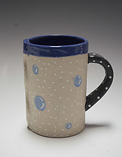 Tall Bubble Mug by Vaughan Nelson (Ceramic Mug)