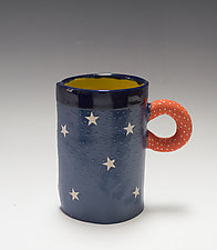 Star Mugs by Vaughan Nelson (Ceramic Mug)