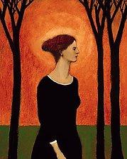 Holy Woman by Brian Kershisnik (Giclee Print)