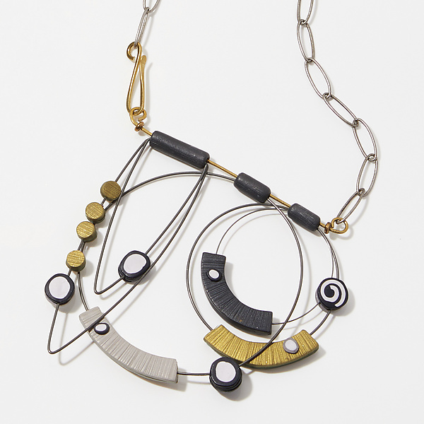 Stacked Shapes Neckpiece