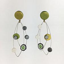 Dots Earrings by Arden Bardol (Polymer Clay Earrings)