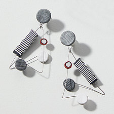 Jazzed Up Earrings by Arden Bardol (Polymer Clay Earrings)
