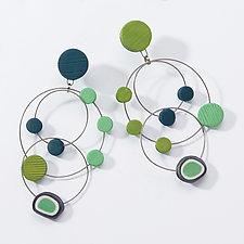 Chandelier Loop Earrings by Arden Bardol (Polymer Earrings)