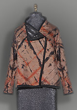 Glazed Linen and Silk Reversible Jacket by Jacquie Rice and Uosis Juodvalkis (Linen & Silk Jacket, M (10-12))