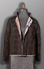 Glazed Reversible Jacket by Jacquie Rice and Uosis Juodvalkis (Linen & Silk Jacket, S (8-10))