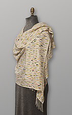 Cashmere Dash Wrap by Uosis Juodvalkis  and Jacquie Rice (Cashmere & Silk Scarf)