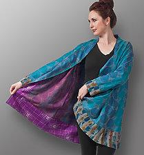 Silk Kantha Jacket by Uosis Juodvalkis  and Jacquie Rice  (Silk Jacket)