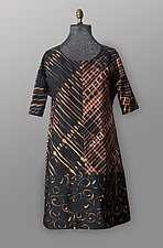 Bronze A-Line Dress by Uosis Juodvalkis  and Jacquie Rice  (Cotton Dress)