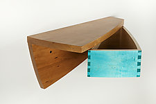 Wall Shelf 3 by Todd  Bradlee (Wood Shelf)
