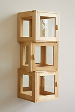 Kybos Display Cabinet by Derek Hennigar (Wood Cabinet)