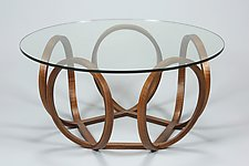 Foiver Table by Derek Hennigar (Wood Coffee Table)