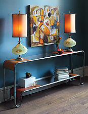 Channel Table by Doug Meyer (Metal Console Table)