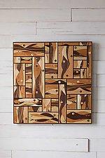 Flow by Steve Uren (Wood Wall Sculpture)
