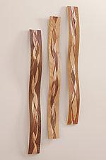 Wall Waves by Steve Uren (Wood Sculpture)