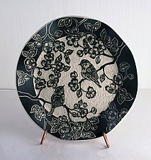 Morning Song Plate by Sara Meehan (Ceramic Plate)