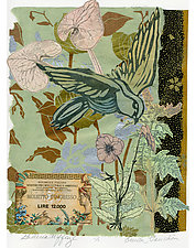 Galleria Uffizi by Ouida  Touchon (Monotype Print)