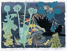 Dark Matter by Ouida  Touchon (Monotype Print)