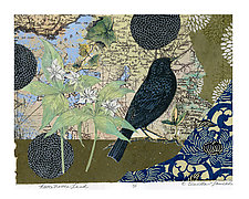 Never Never Land by Ouida  Touchon (Monotype Print)