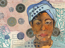 Maya 2 by Ouida  Touchon (Mixed-Media Collage)