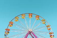 Ferris Wheel No. 2 by Dario Preger (Color Photograph)