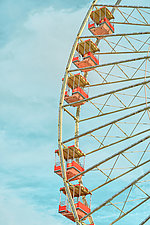 Ferris Wheel No. 1 by Dario Preger (Color Photograph)