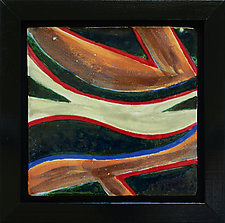 River Flow IV by Rod  Hemming (Ceramic Wall Sculpture)