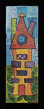 A Very Very Very Fine House  by Rod  Hemming (Ceramic Wall Sculpture)