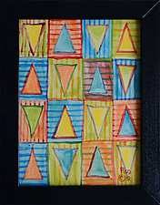 Every Direction II by Rod  Hemming (Ceramic Wall Sculpture)