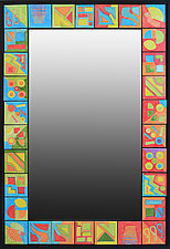Changing Seasons Mirror by Rod  Hemming (Ceramic Mirror)