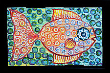Captain Nemo-Submariner by Rod  Hemming (Ceramic Wall Sculpture)