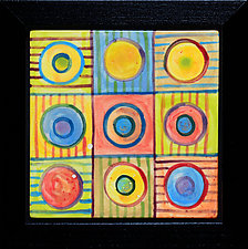 Universe III by Rod  Hemming (Ceramic Wall Sculpture)
