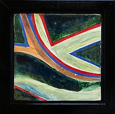 River Flow Series II by Rod  Hemming (Ceramic Wall Sculpture)