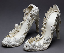 Shoes by Byron Williamson (Ceramic Sculpture)