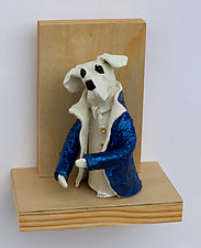 The Opera Star by Byron Williamson (Ceramic Wall Sculpture)