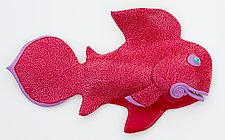 Crimson Cod by Byron Williamson (Ceramic Wall Sculpture)