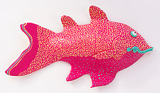 Pretty Porgy by Byron Williamson (Ceramic Sculpture)