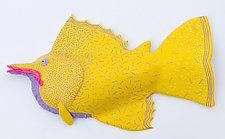 Lemondrop by Byron Williamson (Ceramic Wall Sculpture)